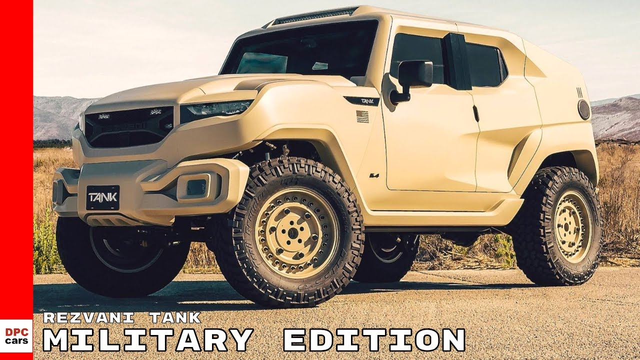 Rezvani Tank Military Edition Youtube
