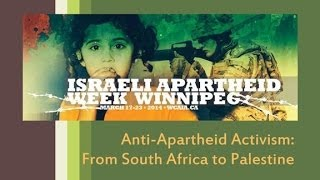 Anti-Apartheid Activism: From South Africa to Palestine