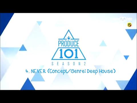 [PRODUCE 101 season2] 5 songs  Concept Evaluation PREVIEW