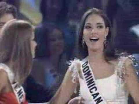 Amelia Vega es la Miss Universo 2003