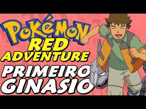 Pokémon Adventure Red Chapter (Detonado - Parte 3) - Ginásio do Brock em Pewter