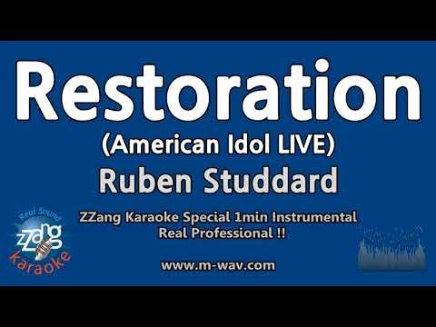 Ruben Studdard-Restoration (American Idol)(1 Minute Instrumental) [ZZang KARAOKE]