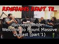 Renegades React to    SovietWomble - Welcome to Mount Massive - Outlast (part 1)
