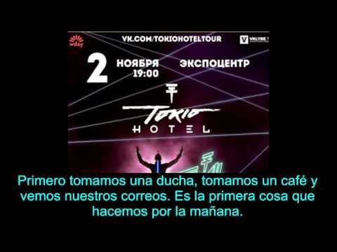 Tokio Hotel interview - Volgograd FM 101.5(Russia) [sub. español]