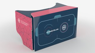uCreate Studio Cardboard VR Headset