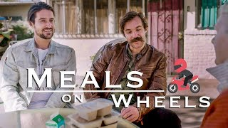 Delivering Meals on Wheels on Motorcycles! | Volunteering in Los Angeles California