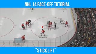 NHL 14: How to Win Faceoffs Tutorial! (Faceoff Guide)