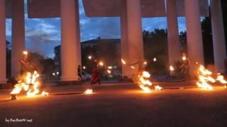 Зрелищное Фаер Шоу Хмельницкий. Fire show.