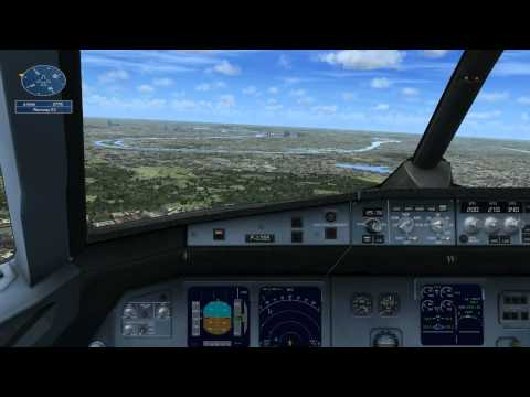 FSX Paris Air Show Demonstration Flight
