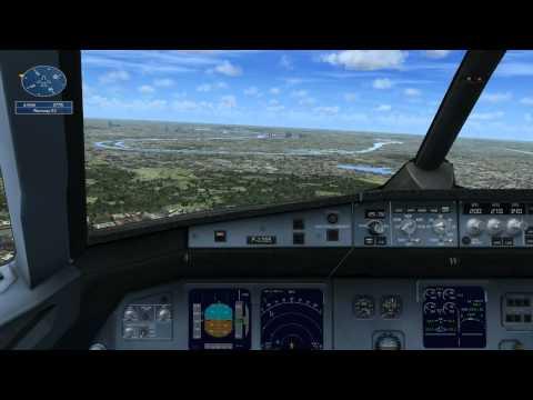 FSX Paris Air Show Demonstration Flight