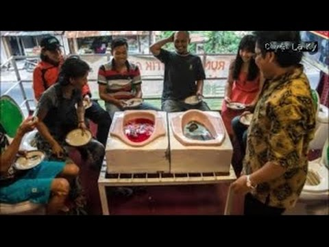 Sởn Gai Ốc Khi Ăn Đồ Ăn Ở Các Bệ Xí Nhà Hàng Toilet ở Hà Nội    Chuyện lạ kỳ