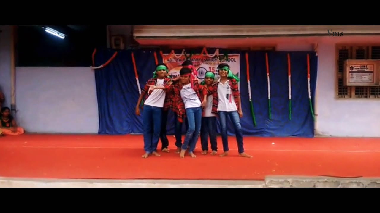 Aa Gattununtava Naganna//Rangasthalam Movie Song//Dance Performance By//Aditya High School//