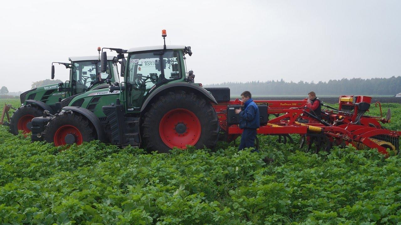 Maisstoppel En Groenbemester Bewerken Met Vaderstad Door Loonbedrijf Bouwman Noordbroek Trekkerweb