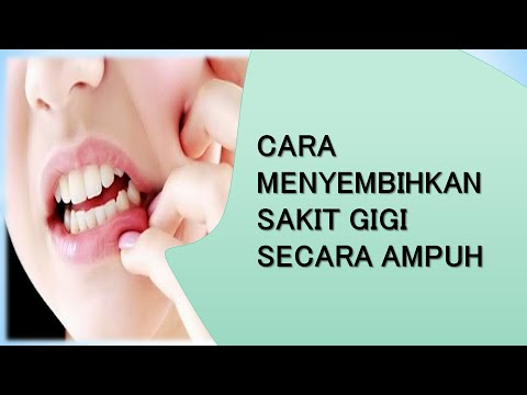 Cara Ampuh Menyembuhkan Sakit Gigi Secara Alami Youtube