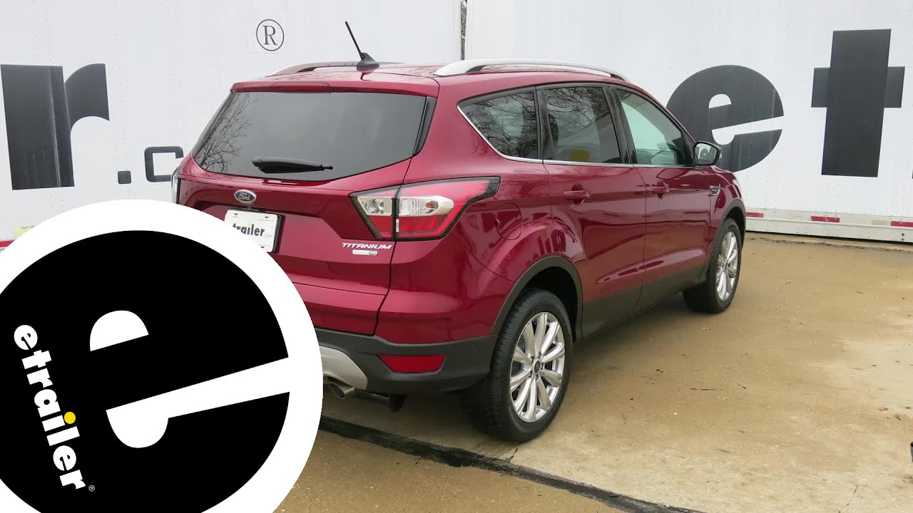 Install Trailer Wiring 2018 Ford Escape 118715 Etrailercom Youtube