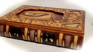 Подарочная книга Кобзарь(http://royalgifts.com.ua/gift-90-podarochnyy-kobzar-v-kozhe-seriya-podarki-ot-prezidenta Подарочная книга - изумительный подарок для богатого чело..., 2015-02-10T00:54:43.000Z)