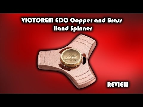 VICTOREM EDC Copper and Brass Hand Spinner - Fidget Toy Review