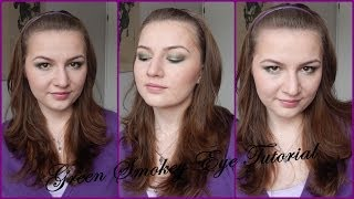 Easy Green Smokey Eyes Tutorial // Using affordable Makeup Thumbnail