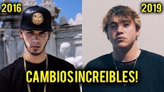 7 CANTANTES EXITOSOS QUE MAS Han CAMBIADO (Trap - Reggaeton)   SeveNTrap