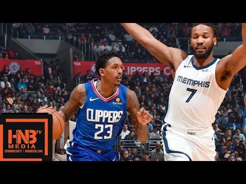 LA Clippers vs Memphis Grizzlies Full Game Highlights | 11.23.2018, NBA Season