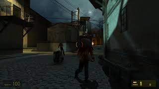 Killing zombies with crowbars??? Half-Life 2 gameplay 1#