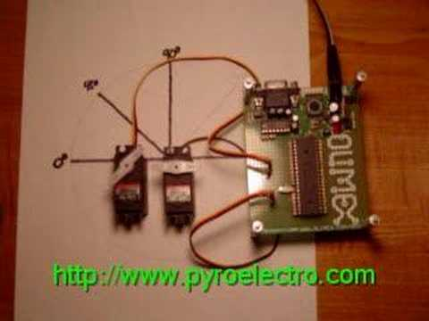 Servo Motor Matlab Gui Microcontroller Pic16f628a V