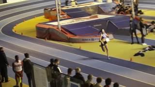 4x200m CAF - Championnats régionaux, Eaubonne Jan 2017