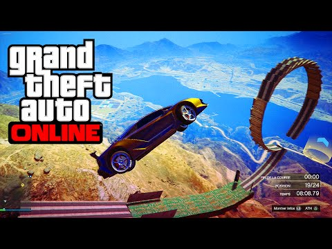 MULTI COURSES (1-30 PLAYERS) GTA 5 ONLINE