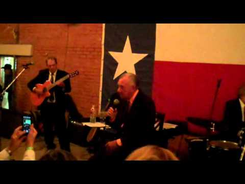 Ray Price live at the Lumberyard in Roscoe, Texas
