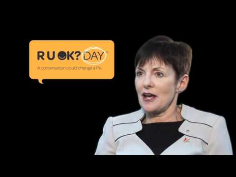 Kate Carnell explains beyondblue's role in reducing anxiety and depression-related stigma (R U OK?)