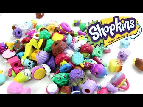 Thrifty Finds #4 - Random Mix Of Shopkins Season 1, 2, 3, 4, And Food Fair