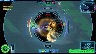 Star Wars: The Old Republic - Galactic Starfighter Footage 02
