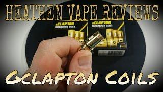 Gclapton Subzero .3ohm Clapton Coils by Atom Vapes