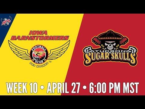 Week 10 | Iowa Barnstormers at Tucson Sugar Skulls