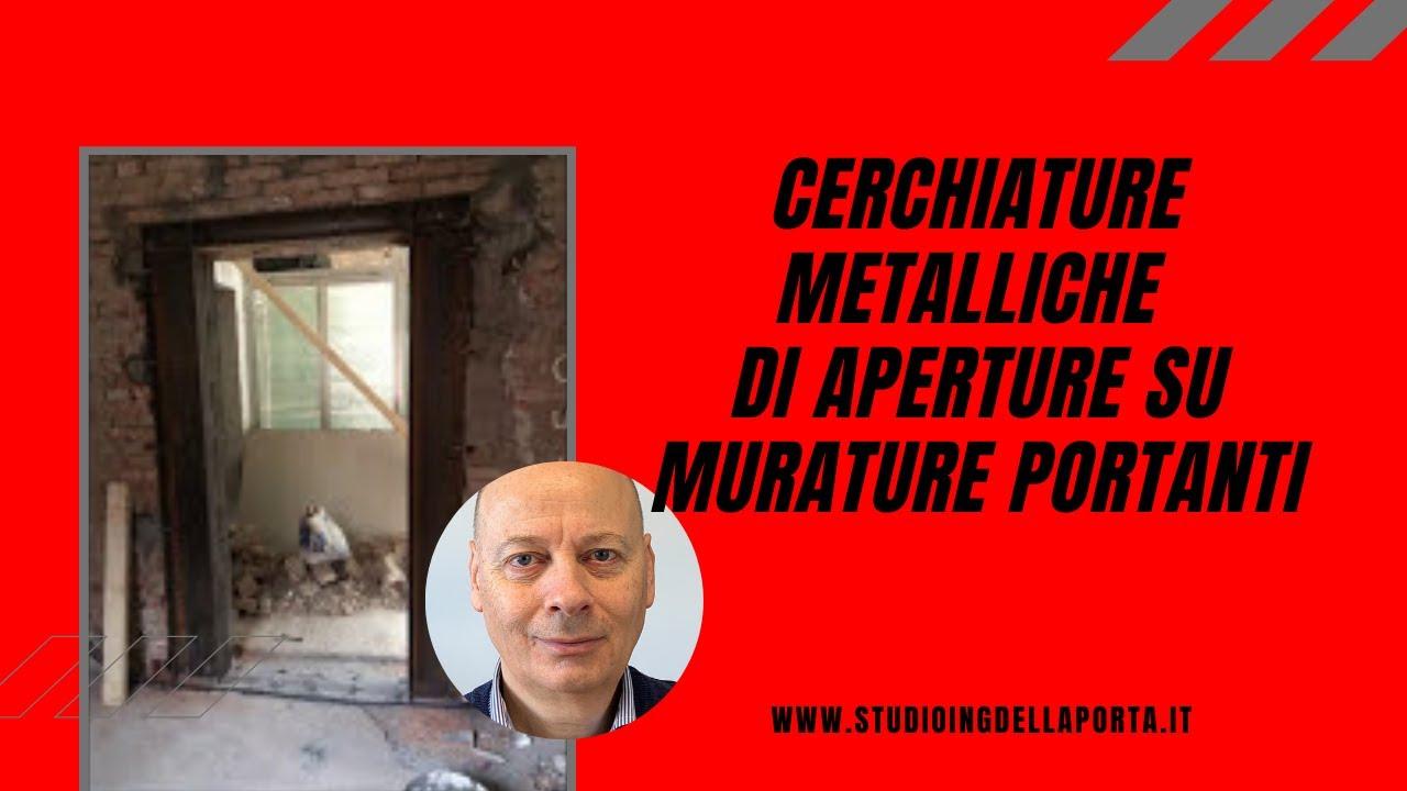 Cerchiature metalliche di aperture su murature portanti - Casa in muratura portante ...