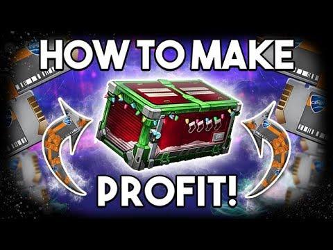 how to make keys tradable rocket league