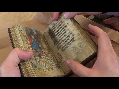 15th Century Book of Hours and Handwritten Companion Volume