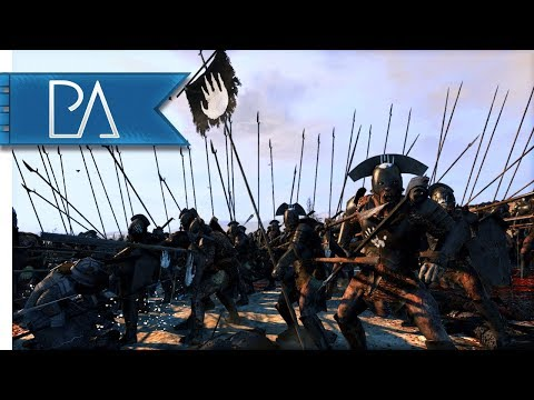 RISE OF MORDOR IS OUT! DWARVEN SIEGE BATTLE - Total War: Rise Of Mordor Mod Gameplay