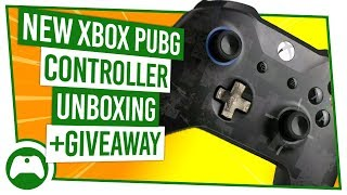 NEW Xbox PUBG Limited Edition Controller Unboxing + Giveaway!