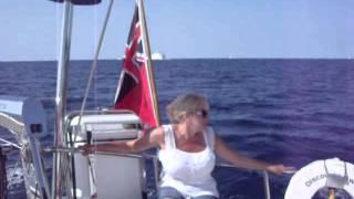 Pauline cruising off Croatia