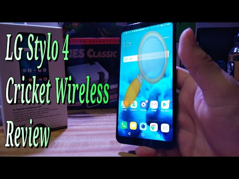 LG Stylo 4 Cricket Wireless Review HD Front Rear Camera Speaker Video Specs Sound Price