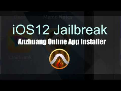 Anzhuang jailbreak for iOS 12