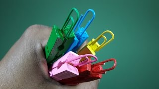 7 Amazing Life Hacks With Paper Clips