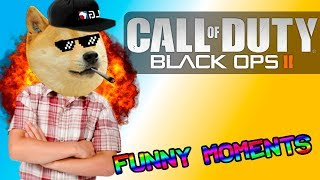 Black Ops 2 Funny Moments - 1v1 With A Scrub Kid!