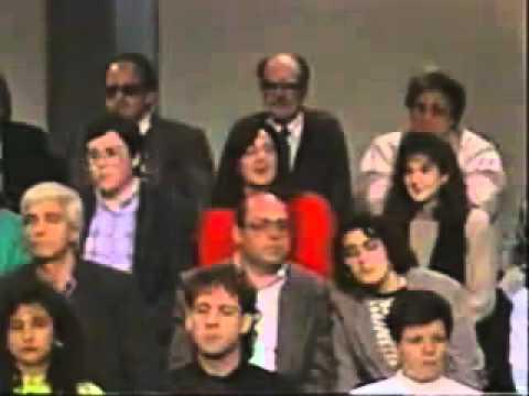 Professor Fassman a TV3, fent un dels seus números més coneguts, i imitats.