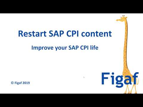 A different way to restart SAP CPI content - Figaf