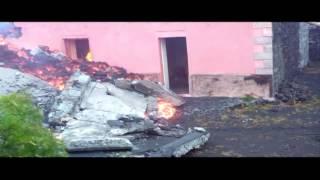 Erupción del volcán Pico de Fogo en Cabo Verde destruyó dos poblaciones cercanas 16-12-14