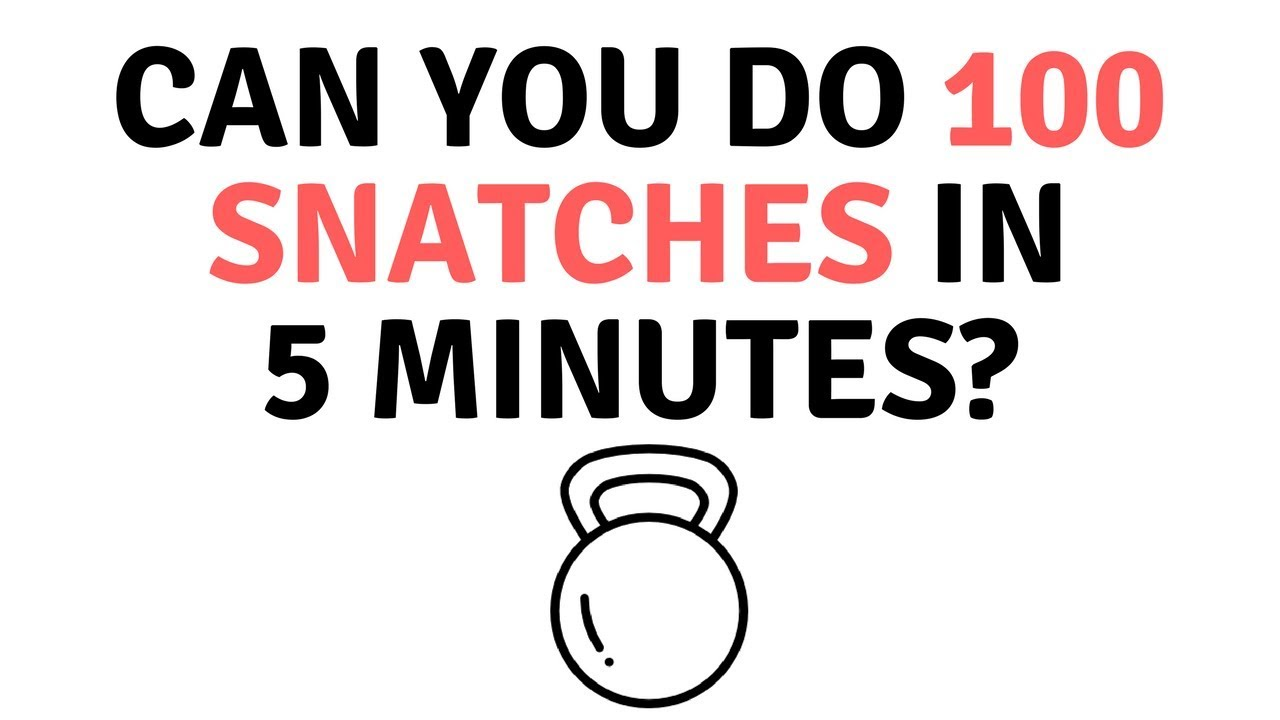 What's Worse: 200 swings or 100 snatches? Let's find out! [The ...