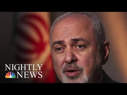 Starting War With Iran Would Be 'Suicidal,' Iran's Foreign Minister Says | NBC Nightly News