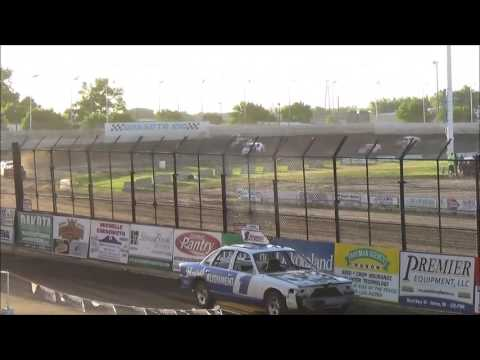 BROCK HESS HEAT RACE DAKOTA STATE FAIR SPEEDWAY JUNE 4,2016